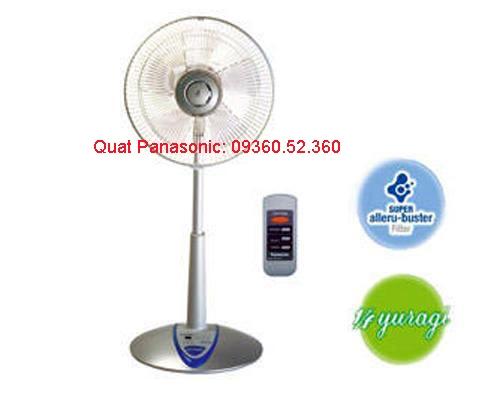 Panasonic Việt Nam ra mắt 04 model quạt mới trong Hè 2011