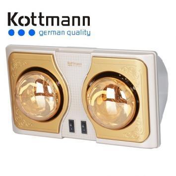 Đèn sưởi Han's - Kottmann 2 bóng - K2B-H